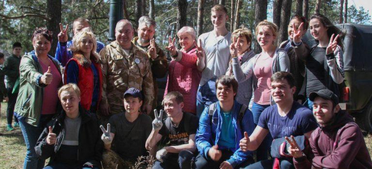 Участие студентов в акции «Лес Победы»