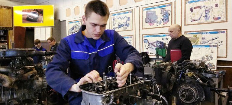 Олимпиада по специальности «Техническое обслуживание и ремонт двигателей, систем и агрегатов автомобилей»