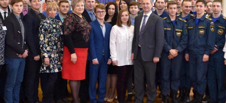 Встреча руководителя администрации Воскресенского района со студентами ГБПОУ МО «Воскресенский колледж»