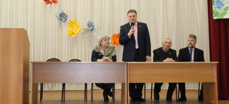Встреча с депутатом московской областной Думы А.Б. Мазуровым