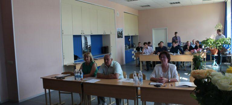 Защита дипломных проектов в ОСП №1