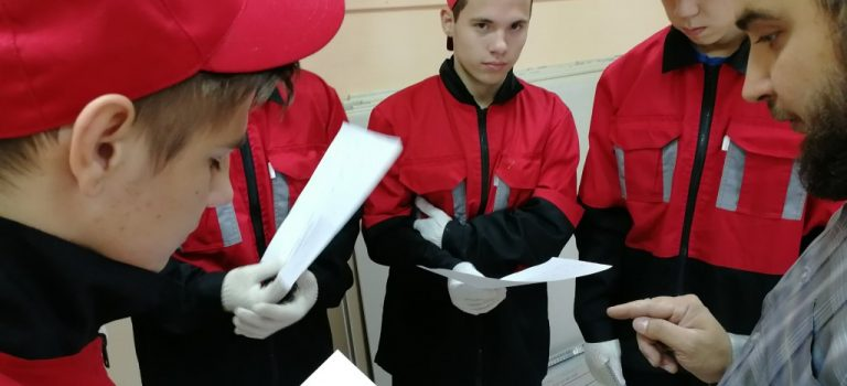 Участие в Отборочных соревнованиях V Регионального чемпионата «Молодые профессионалы (WorldSkills Russia)»