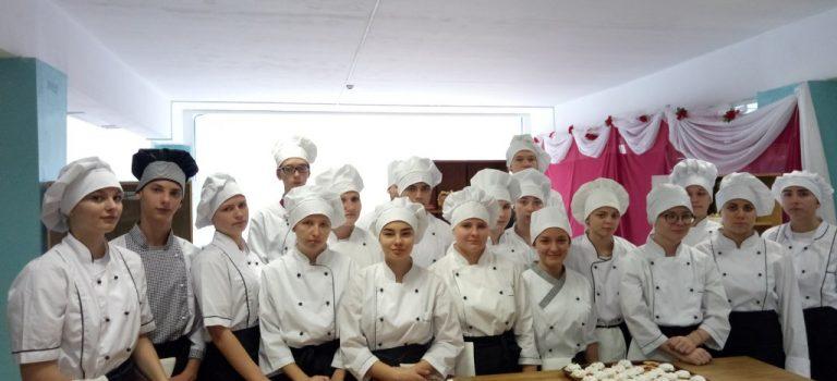 Мастер-класс с группой ТТ-73,  на тему: «Приготовление и оформление песочных корзиночек»