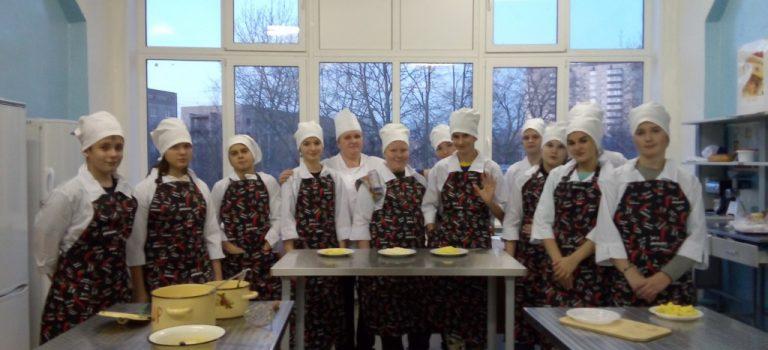 Практические работы со школьниками, обучающимися по профессии «Повар»