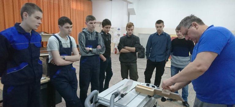 Мастер-класс по компетенции «Укладка напольных покрытий»