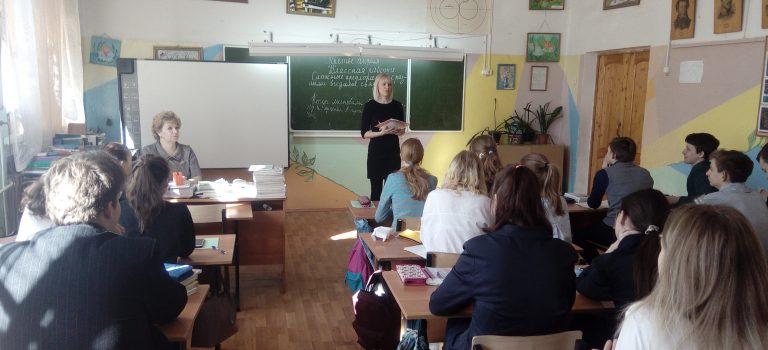 Профориентационные встречи с учащимися школ