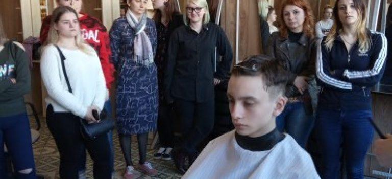 На базе ОСП № 2  состоялся мастер-класс от мастеров салона — парикмахерской «Барбершоп HOST»