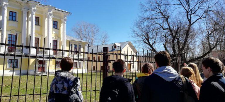 Студенты ОСП №3 посетили Культурный центр «Усадьбу Кривякино»