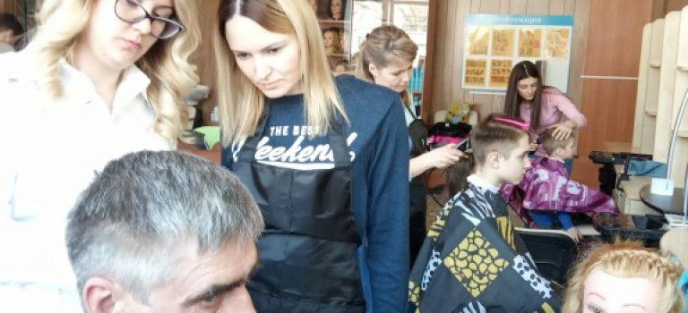 Квалификационный экзамен в группе парикмахеров