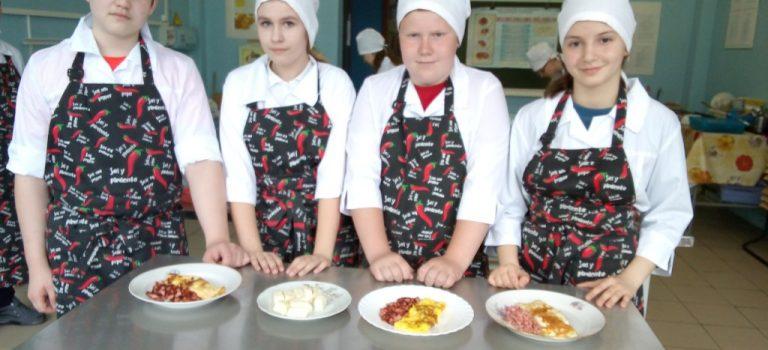 Подошёл к концу первый год обучения школьников по профессии » Повар» в рамках проекта » Путевка в жизнь»