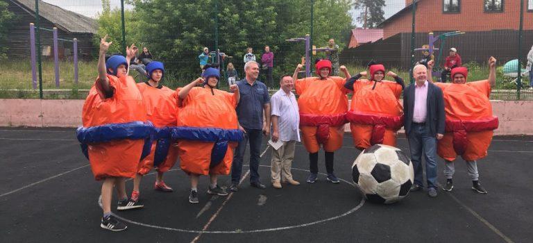 Студенты ОСП № 1, в рамках празднования государственного праздника «День России», приняли участие вIVОткрытом турнире по сумоболу среди молодёжи Воскресенского района.