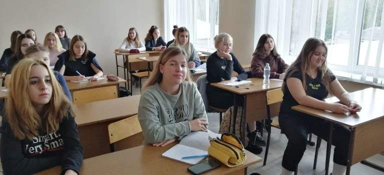 Состоялось занятие в группе школьников 2019 года набора, получающих профессию «Секретарь руководителя»