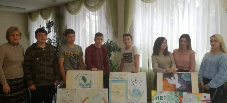 В ОСП №3 прошли мероприятия к Международному дню мира, в которых приняли участие студенты 1 и 2 курсов