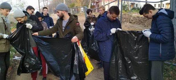 Мероприятии по уборке территории «Чистый город»