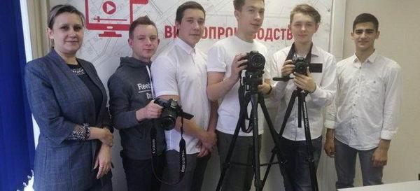Прошли отборочные соревнования к Региональному Чемпионату «Молодые профессионалы»WorldSkillsRussiaпо компетенции «Видеопроизводство»