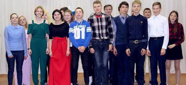 ВОСП№4в честь Дня Учителя студенты подготовили концерт-поздравление для своихпреподавателей