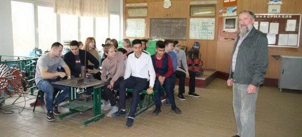 Мастер-класс по профессии «Сварщик»