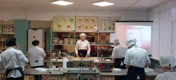 19 ноября в ОСП № 4 мастер-класс по специальности «Поварское и кондитерское дело»