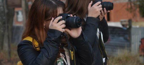 Практические занятия у фотографов по проекту «Путевка в жизнь»