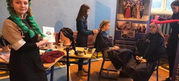 Неделя парикмахерского искусства в ОСП № 2