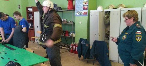 Конкурс профессионального мастерства по профессии «Пожарный»
