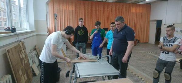 Межрегиональная тренировка сборных команд  по компетенции «Укладка напольных покрытий»