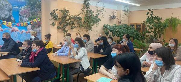 Родительское собрание в Фаустовской СОШ