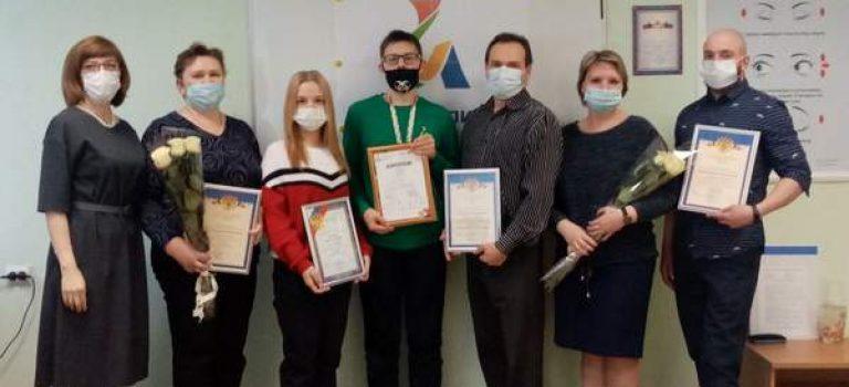 Награждение победителей, золотых медалистов VI национального чемпионата «Абилимпикс».